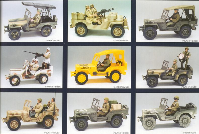 RC Jeep first way to - Sixth Army Group